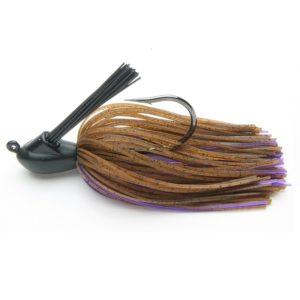 Keitech Rubber Jig Model 1 Brown Purple