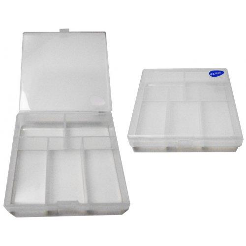 Caja Spinnerbaits EVIA 90x90x20 mm