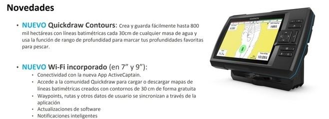 Garmin Striker Plus 9sv Sonda Garmin Nautica (2)