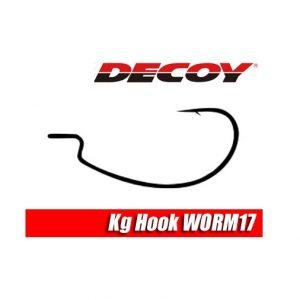 Decoy Worm 17 kg Hook 2/0 Anzuelo curvo Texas